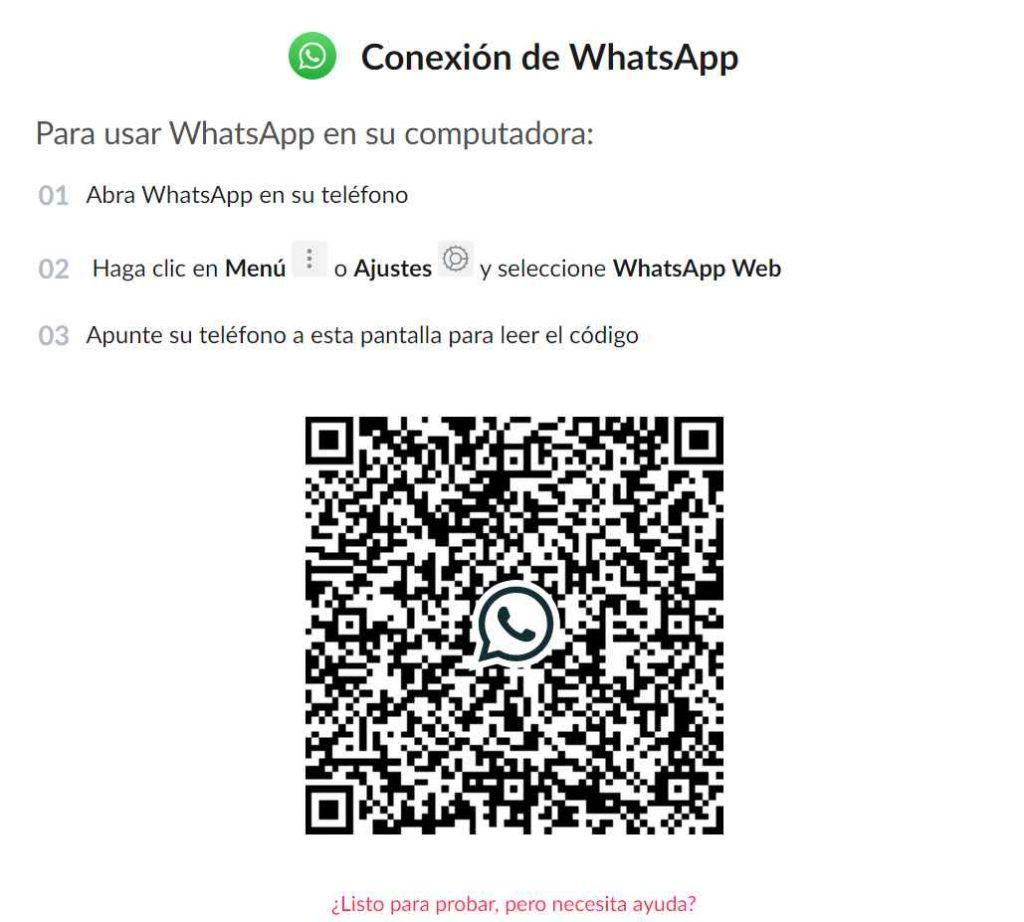 Conectar whatsapp